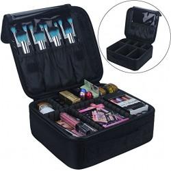 make-up en cosmetica tas zwart